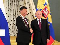 Путин встретился в Кремле с главой КНР и вручил ему высшую государственную награду России