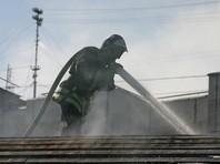 В Хабаровском крае загорелся военный склад. Пожар локализован