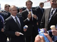 Путин на открытии авиасалона МАКС рассказал оперспективахавиапрома и съел мороженое