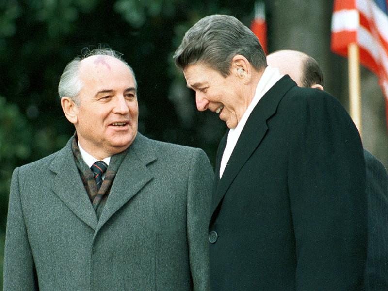 Горбачев сравнил переговоры Путина с Трампом со своей встречей с Рейганом