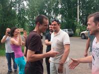 """Вышел на свободу осужденный по """"болотному делу"""" Дмитрий Ишевский"""