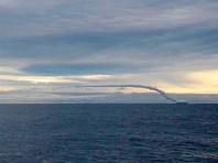 """Атомный подводный крейсер """"Смоленск"""" провел пуск крылатой ракеты в Баренцевом море"""