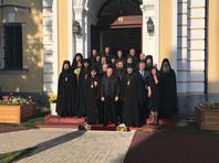 Путин в Коневецком монастыре