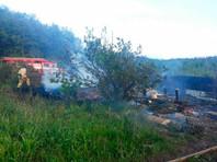 В Иркутской области крупный пожар в садовом товариществе: 7 человек погибли