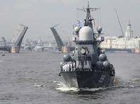 День ВМФ в Питере: морской парад принял Путин, в Кронштадт закрыли въезд