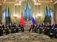 В России прошла встреча президента РФ Владимира Путина и председателя Китая Си Цзиньпина