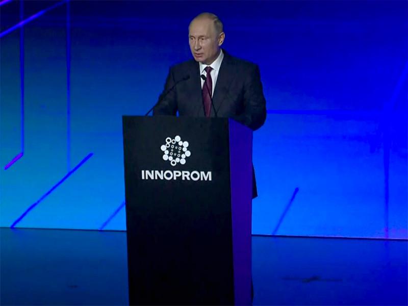 Президент РФ Владимир Путин назвал широкое внедрение в стране передовых технологий мощным ресурсом для развития России