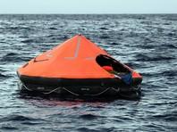 С затонувшего у берегов Крыма сухогруза спасли восьмерых моряков