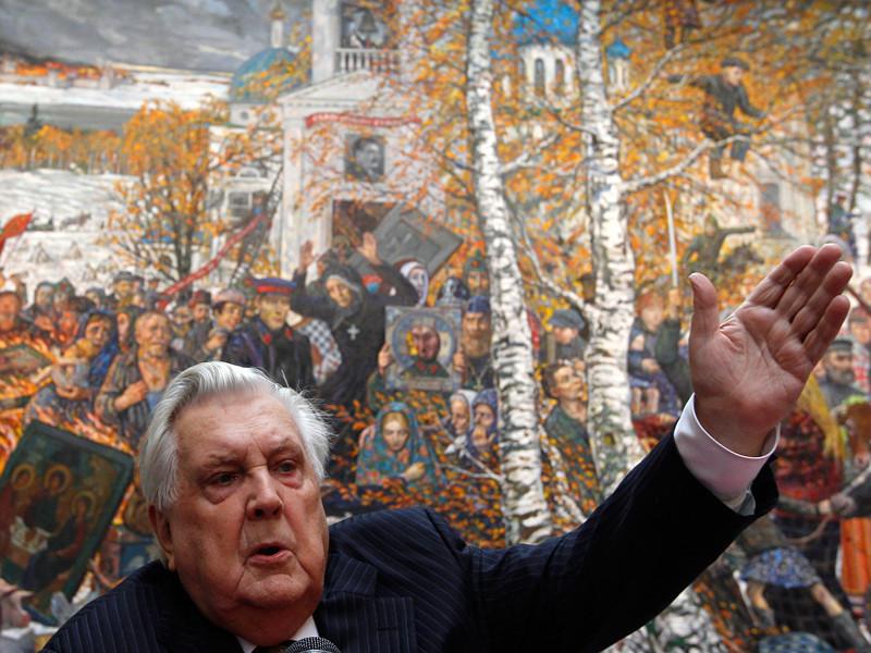 Отпевание художника Ильи Глазунова, скончавшегося в воскресенье на 88-м году жизни, состоится в Богоявленском соборе в Елохове