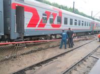 В Новосибирске сошел с рельсов локомотив поезда с 400 пассажирами