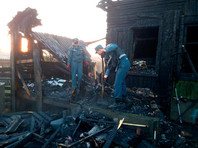 В Челябинской области при пожаре в жилом доме погибли четверо детей