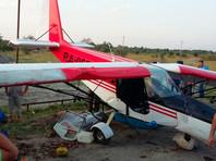 Легкомоторный самолет попал в ДТП в Чечне (ВИДЕО)