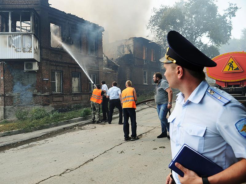 Ростовский Минздрав сообщил о почти 60 пострадавших в результате крупного пожара в городе