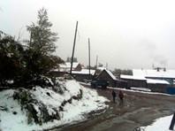 В Амурской области после снегопада пять поселков остались без света, введен режим ЧС