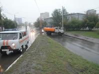 Красноярск парализовало из-за длительного дождя, объявлен режим ЧС