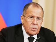 """Лавров заявил, что власти США, приостановившие выдачу виз россиянам, ставят целью """"цветную революцию"""""""