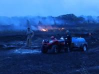 В течение дня большинство пожаров удалось локализовать или ликвидировать, однако 25 августа в регионе возникли четыре новых очага природных пожаров в трех муниципальных районах