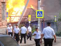 В историческом центре Ростова-на-Дону площадь крупного пожара уже достигла 7 тысяч квадратных метров