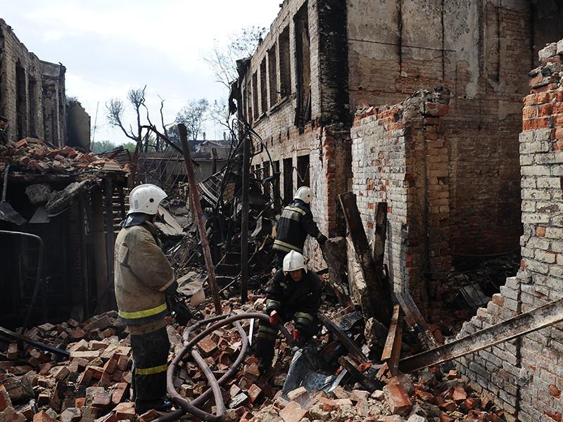 Жилой район в Ростове-на-Дону сгорел из-за нескольких умышленных поджогов