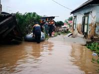 В Приморье паводком затопило четыре района. В Уссурийске введен режим ЧС