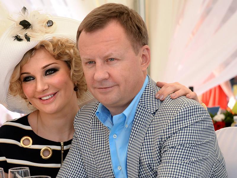 Мария Максакова и её супруг Денис Вороненков,  30 мая 2015 года