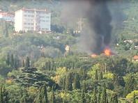 В Крыму сгорел нелегальный детский лагерь, где отдыхали юные каратисты из Москвы (ВИДЕО)