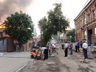 На месте крупного пожара в Ростове-на-Дону нашли тело погибшего