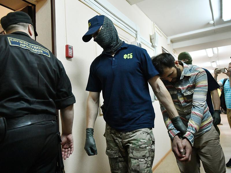 Рассмотрение в Лефортовском суде ходатайства об аресте подозреваемых в подготовке терактов в Москве, 14 августа 2017 года