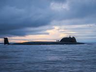 """В Баренцевом море атомная подлодка """"Северодвинск"""" провела стрельбу ракетой """"Калибр"""""""