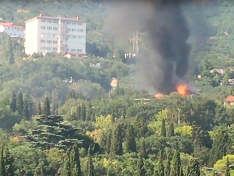 В Крыму сгорел нелегальный детский лагерь, где отдыхали юные каратисты из Москвы