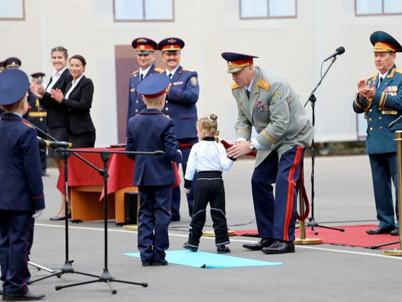 Председатель Следственного комитета РФ Александр Бастрыкин принял участие в торжественном открытии Санкт-Петербургского кадетского корпуса СК