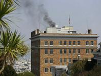 Представитель МИД Захарова объяснила черный дым над консульством в Сан-Франциско срочной консервацией