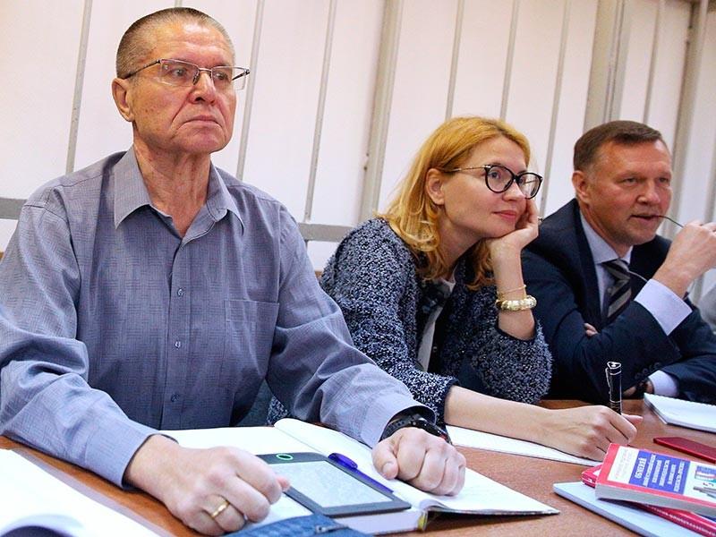 Экс-министр экономического развития Алексей Улюкаев в Замоскворецком районном суде города Москвы, 1 сентября 2017 года