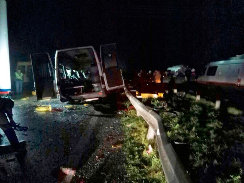 Шофёр угодившей вДТП под Калининградом маршрутки работал без лицензии