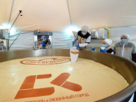 В Ставрополе приготовили четырехтонный чизкейк