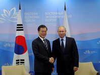 Путин и лидер Южной Кореи договорились сообща решать проблему КНДР и не забыли о газе