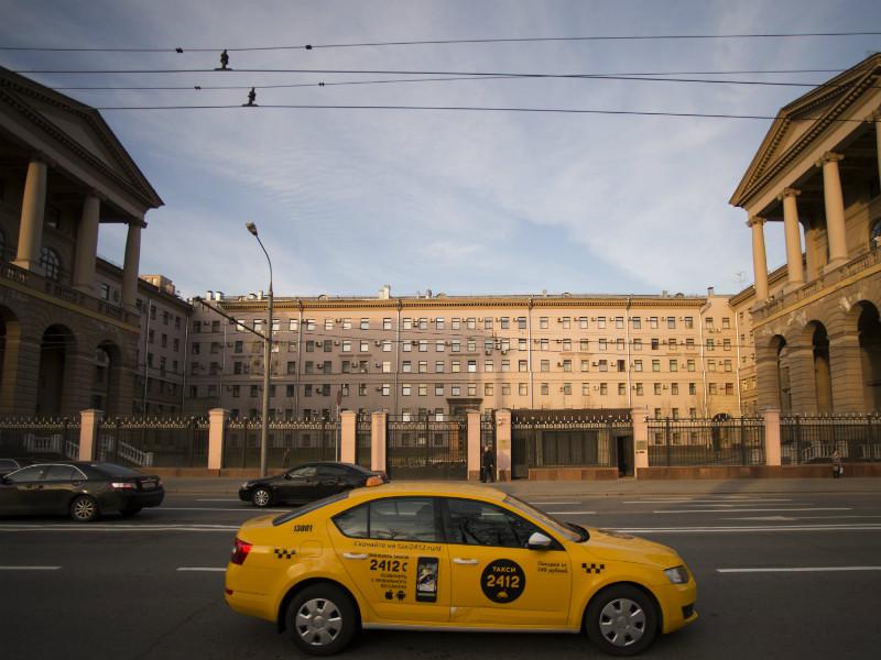 Комплекс зданий московского управления МВД
