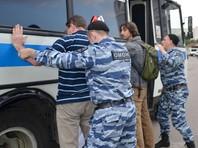 Десятки задержанных в центре Москвы, в том числе Удальцов и Лимонов