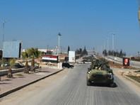По данным Минобороны РФ, военные сопровождали автомобильную колонну российского Центра по примирению враждующих сторон