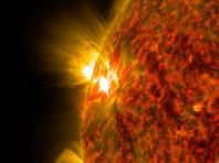 На Солнце произошла новая  крупная  вспышка