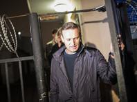 Навальный вышел из ОВД, где провел в ожидании протокола обвинения более 10 часов