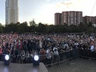 В Екатеринбурге на митинг Навального пришли тысячи человек