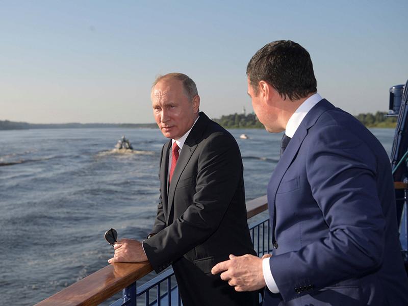 Владимир Путин, 1 сентября 2017 года