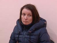 Анна Сухоносова, задержанная ФСБ РФ в Симферополе по обвинению в передаче спецслужбам Украины сведений, составляющих государственную тайну
