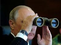 """Президент России Владимир Путин посетил учения """"Запад 2017"""" 18 сентября, через два дня после инцидента"""
