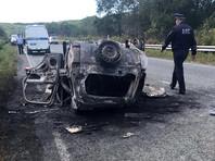 Рейсовый автобус в Приморье выехал на встречную полосу и врезался в легковой автомобиль, в результате три человека погибли