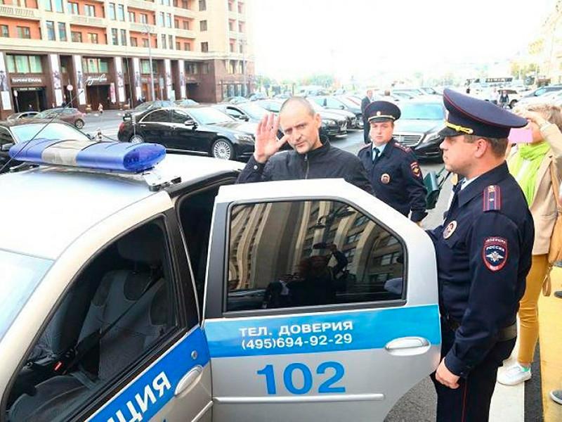 Сергея Удальцова арестовали на пять суток. Он объявил голодовку