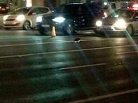 Источники: водителя, сбившего насмерть полицейского в центре Москвы, увезли  на машине ФСБ