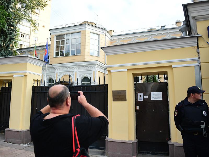 Посольство Мьянмы в Москве, 3 сентября 2017 года