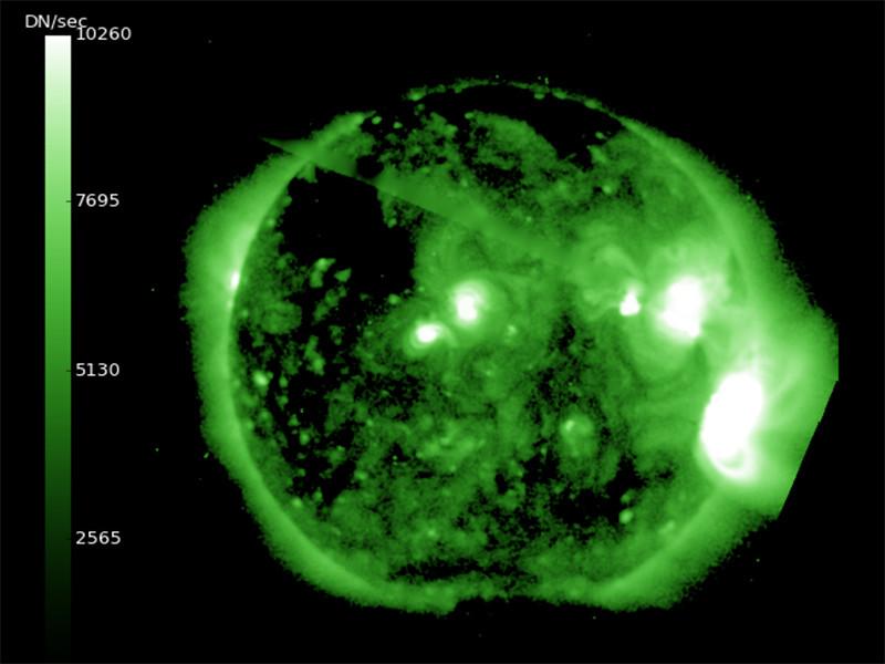 Новые мощные вспышки на Солнце вызвали солнцетрясение